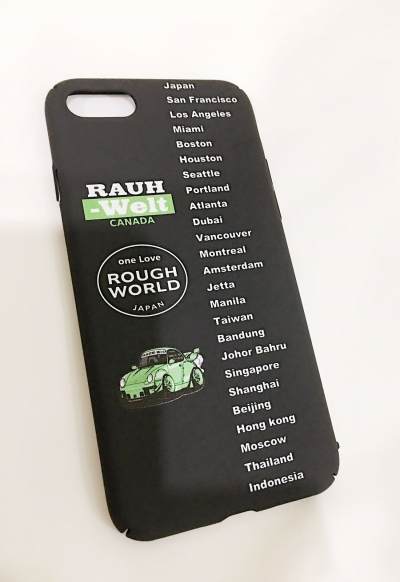 RWB one Love RAUH-Welt Locations (Green) Mobile Phone Silicone Case for iPhone 6 Plus